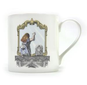 Alice In Wonderland Through the Looking Glass Fine Porcelain Mug Thumbnail 1