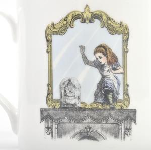 Alice In Wonderland Through the Looking Glass Fine Porcelain Mug Thumbnail 3