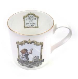Alice In Wonderland Through the Looking Glass Fine Porcelain Mug Thumbnail 5
