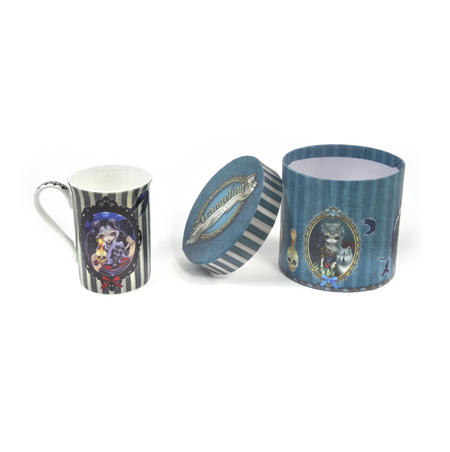 Strangeling - Sign of Our Parting Boxed Mug by Jasmine Becket-Griffith