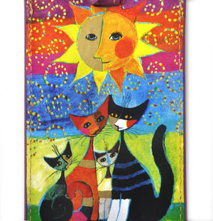 Rosina Wachtmeister - Momenti di felicita / Moments of happiness Luggage Tag / Bag Identifier Thumbnail 3