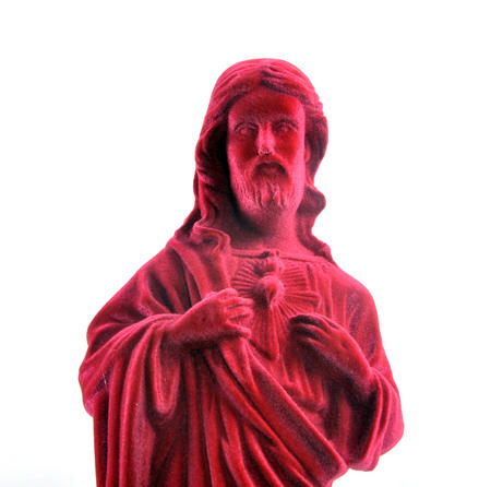 Jesus Christ Velour Money Box
