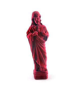 Jesus Christ Velour Money Box Thumbnail 2
