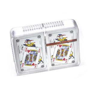 Ace Canasta / Patience Playing Cards - 2 Deck Set