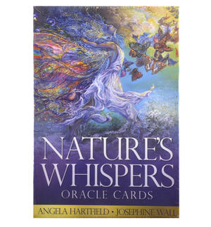 Nature's Whispers Oracle Cards by Angela Hartfield & Josephine Wall