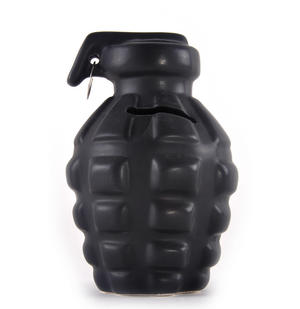 Hand Grenade Money Box 15.5cm / 62 Thumbnail 1