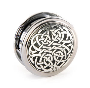 Celtic Never Ending Knot Pewter Desk Magnifier Thumbnail 4
