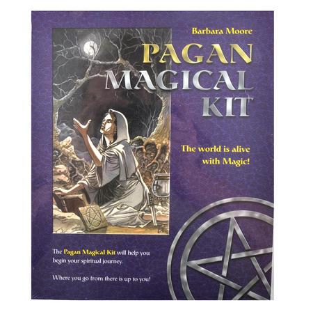 Pagan Magical Kit - Candles, Crystals, Alter, Incense & Tarot
