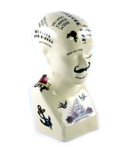 Carnival Phrenology Head
