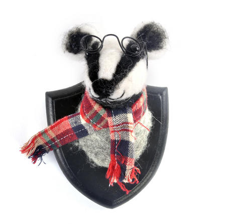 Lord Badger Wall Plaque