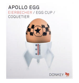 Apollo Egg - Space Rocket Egg Cup Thumbnail 3