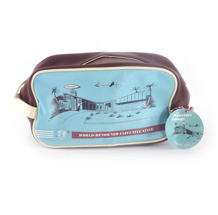 Departure Lounge - Travel Bag / Wash Bag - World-Renowned Executive Style