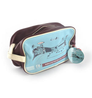 Departure Lounge - Travel Bag / Wash Bag - World-Renowned Executive Style Thumbnail 3