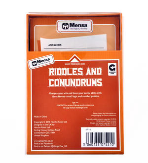 Mensa Riddles and Conundrums Game Thumbnail 2