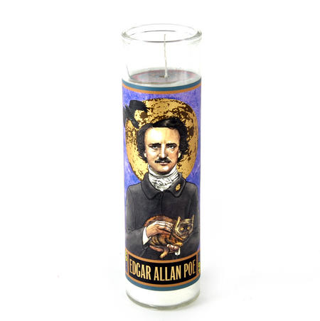 Edgar Allan Poe Candle