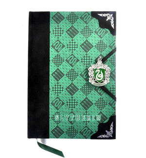 Harry Potter Slytherin Premium Journal Notebook - Noble Collection Thumbnail 1
