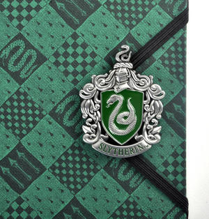 Harry Potter Slytherin Premium Journal Notebook - Noble Collection Thumbnail 2