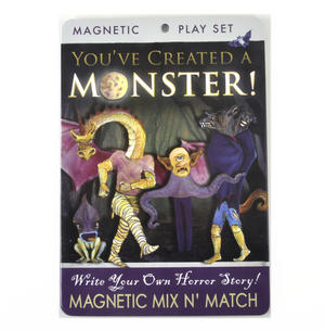 You've Created a Monster Fridge Magnet Set - Write Your Own Horror Story