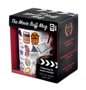 Movie Buff Mug feat. 50 Iconic Movies Thumbnail 4