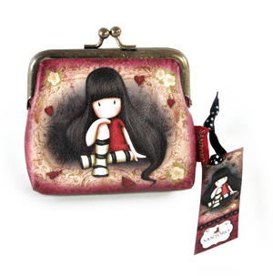"""The Collector 4"""" Clasp Purse by Gorjuss"""