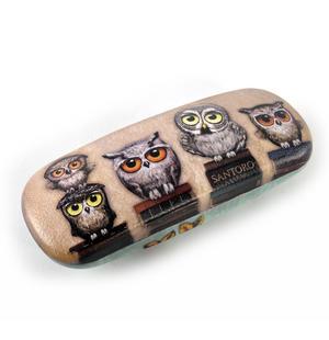 Book Owls Glasses Case by Gorjuss Thumbnail 3