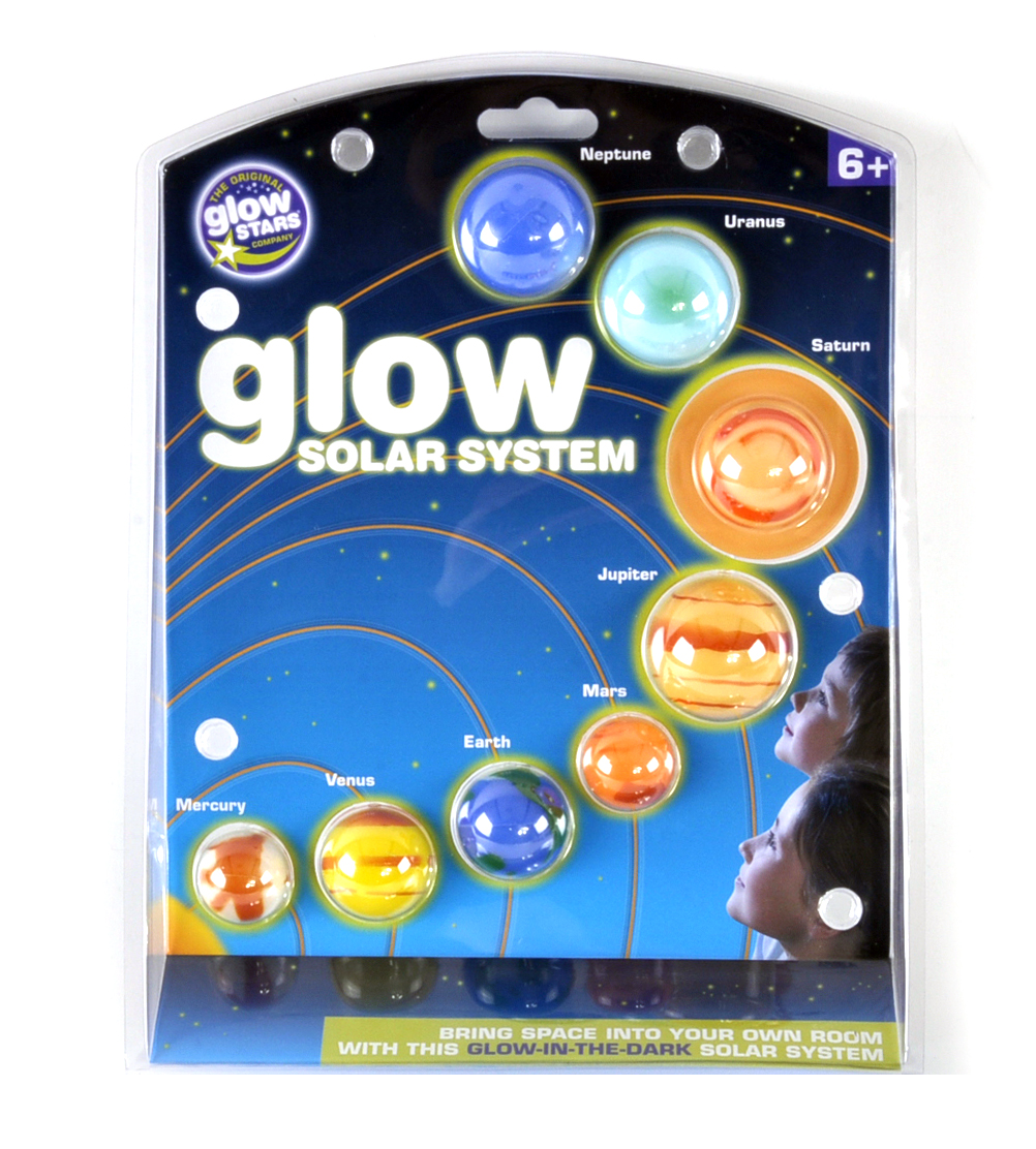 Glow in the Dark Solar System | eBay