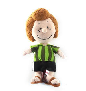 "Peppermint Patty - Peanuts Soft Toy - 10"" of Warm Happiness Thumbnail 3"