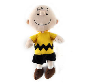 "Charlie Brown - Peanuts Soft Toy - 10"" of Warm Happiness Thumbnail 3"