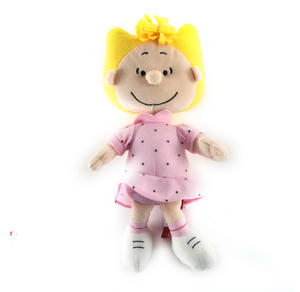 "Sally - Peanuts Soft Toy - 10"" of Warm Happiness Thumbnail 2"