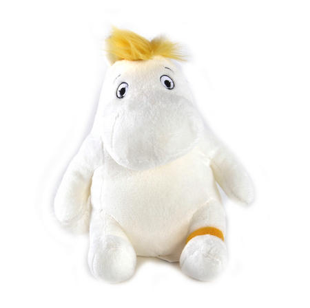 "Snorkmaiden Sitting - Moomins Soft Toy - 8"" of Mumintroll Fun"