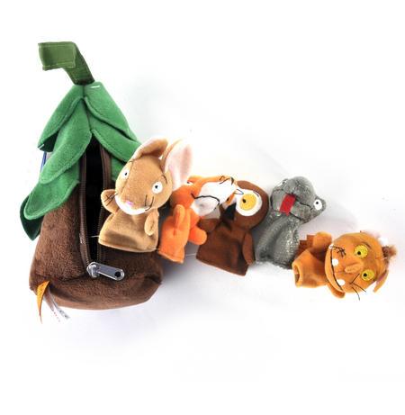 Gruffalo Finger Puppets Treehouse Set