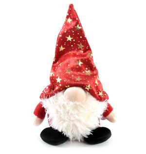 "Gnomlin 8"" Soft Toy - Red Hat"
