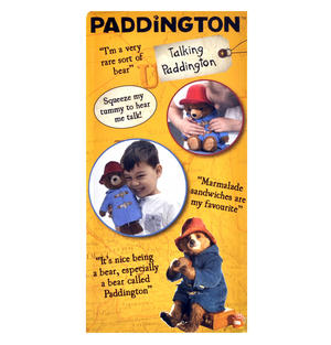 Paddington Bear Movie Talking Toy Thumbnail 5