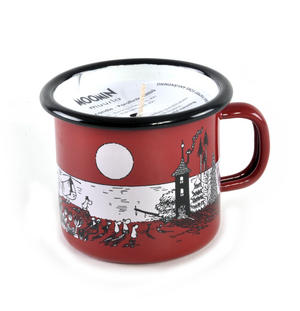 Eve at Moominvalley - Moomin Candle in 2.5cl Enamel Cup Thumbnail 1
