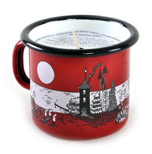 Eve at Moominvalley - Moomin Candle in 2.5cl Enamel Cup Thumbnail 2