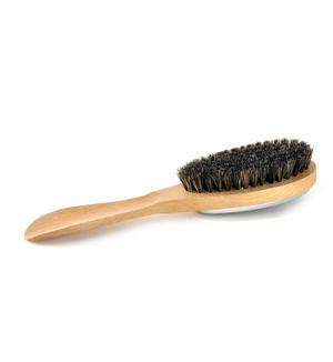 3 in 1 Natural Beech Clothes Brush with Lint Remover Thumbnail 3