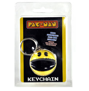 Pac Man Keychain with Authentic Pac-Man Sound Effects