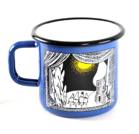 Winter in Moominland - Moomin Muurla Enamel Mug- 3.7 cl