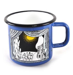 Winter in Moominland - Moomin Muurla Enamel Mug- 3.7 cl Thumbnail 2