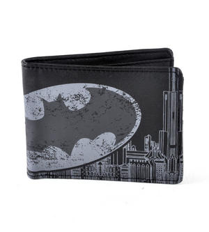 Batman Logo City Wallet