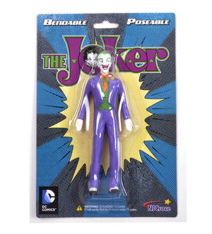 Joker Batman Bendable Poseable Action Figure DC Comics