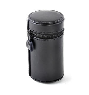 Large 4 Shot Cup Set in Black Leather Case Thumbnail 5