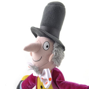 Roald Dahl 30cm Willy Wonka Soft Toy Thumbnail 1
