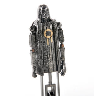 Mechanical Death Eater Noble Collection Harry Potter Metal Sculpture Thumbnail 4