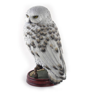 "Hedwig -  Handpainted Sculpture 9.5"" Noble Collection Harry Potter Replica Thumbnail 5"