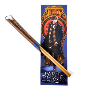 Newt Scaminder Pen Wand & Bookmark - Fantastic Beasts and Where to Find Them - Harry Potter Spin Off Thumbnail 1