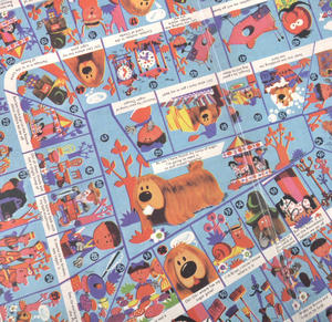 The Magic Roundabout - The Classic 1960s Children's Psychedelic TV Series Retro Board Game Thumbnail 4