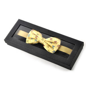Pythagoras Bow Tie with Pi Design Thumbnail 2