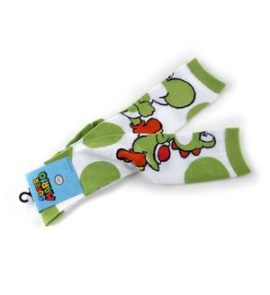 Super Mario Brothers Yoshi Kneehigh Socks Thumbnail 2