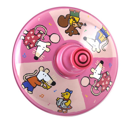 Maisy Mouse Spinning Top